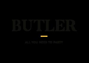 Butler Logo Woord